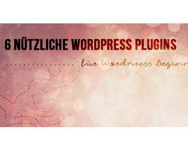 6 nützliche Plugins für WordPress Beginner