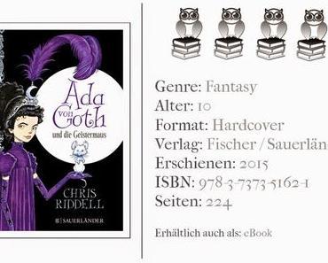 Ada von Goth und die Zaubermaus - Ein tolles Kinderbuch