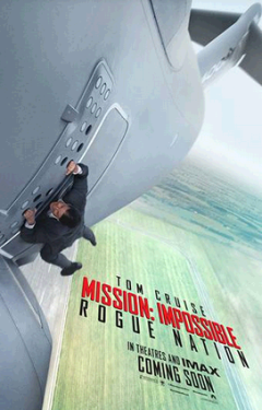 Mission Impossible 5 - Kinoplakat
