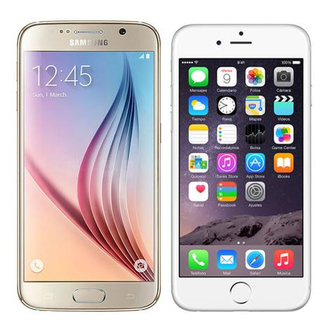 s6vsiphone6 Vergleich: Samsung Galaxy S6 vs iPhone 6