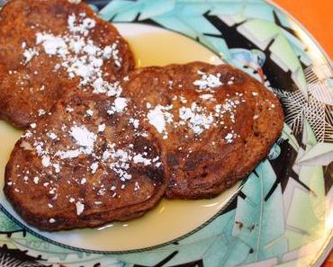 Bananen-Schoko-Pancakes (vegan)