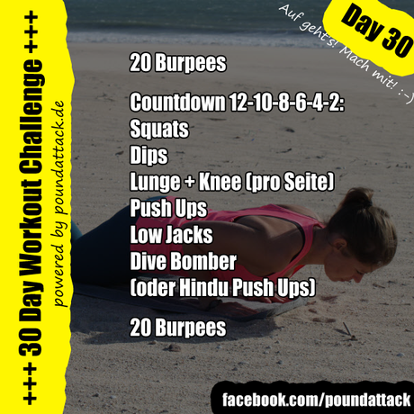 30 Day Workout Challenge – Day 30