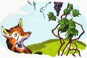 Der Fuchs und die Trauben • Fabel Aesop