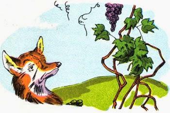 Bildergebnis für Der Fuchs und die Trauben - Äsop