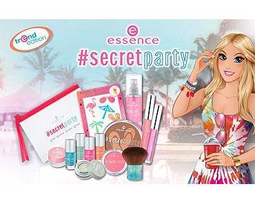 """essence trend edition """"#secret party"""""""