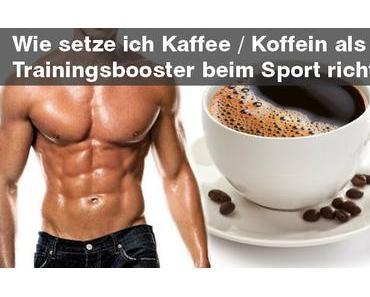 Kaffee / Koffein: der legale Leistungsbooster beim Sport