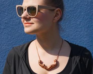 DIY Kupfer-Rohr-Halskette