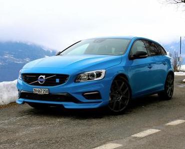 Aufstand von Papa Schlumpf: Volvo V60 Polestar