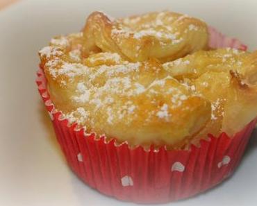Blätterteig-Muffins mit Quarkfüllung