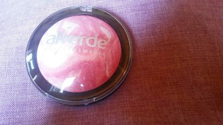 Alverde Fabulous Fifties Limited Edition Gebackenes Rouge 20 Lolli Pink