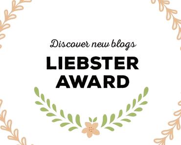 Liebster Award Teil 1
