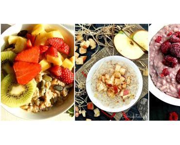 Dreierlei Power Porridge & Gewinner der Ostereiersuche