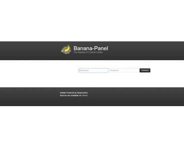 Banana Pi/Pro: Banana Panel installieren