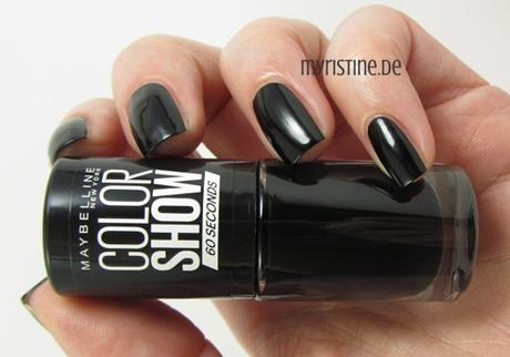 Blackout (MAYBELLINE, Color Show Nail Lacquer)