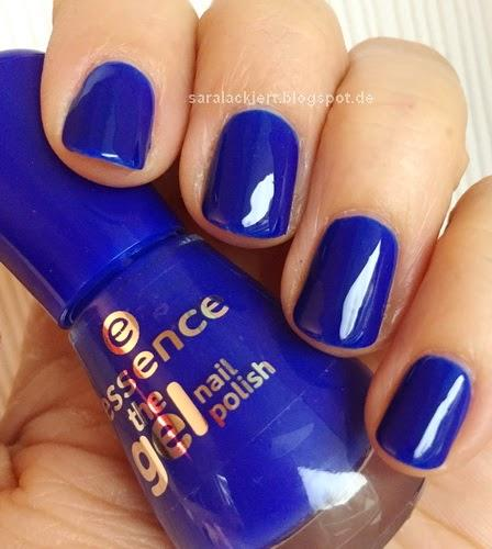 essence - electriiiiiic (the gel nail polish)