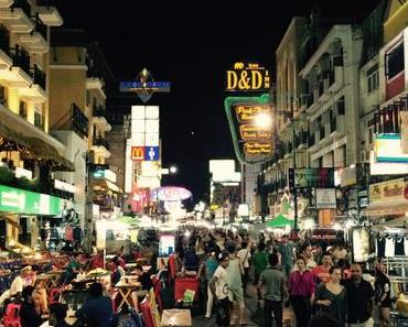 Ankommen in Bangkok – Khaosan Road Teil 1