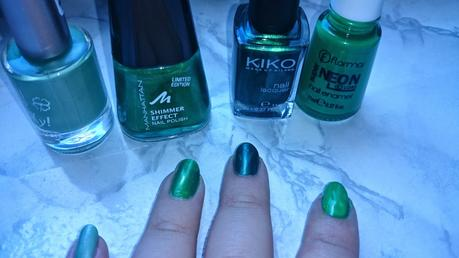 7 Shades of Green - Nagellacke