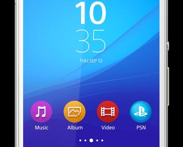 Sony stellt sein neues Top-Smartphone Xperia Z4 vor