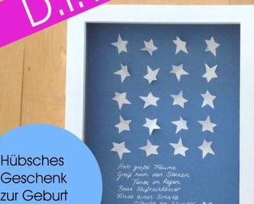 DIY-Geschenk zur Geburt oder Taufe ( – made with l.o.v.e.)