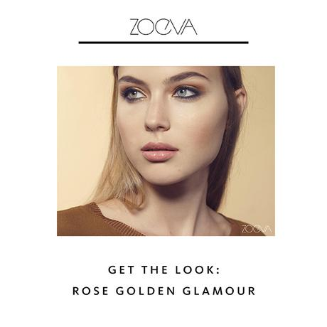 Zoeva  -  Get the Rose Golden Glamour Look