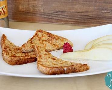 [Ni] French Toast mit Chai-Küsschen {Rezept}