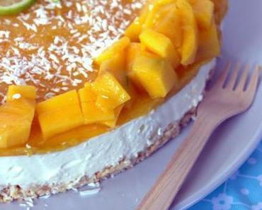 Mango-Kokos-Torte dank Frischkäseüberschuss