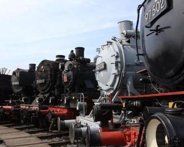 Huuu huuuuuuu – ein Tag im Eisenbahnmuseum Bochum