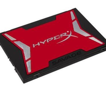 Neue SSD HyperX Savage mit 1 TByte von Kingston