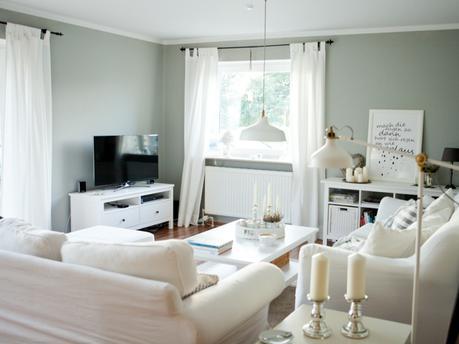 farbpalette wandfarben wohnzimmer wände streichen gelb ... - Wohnzimmer Gelb Gestrichen