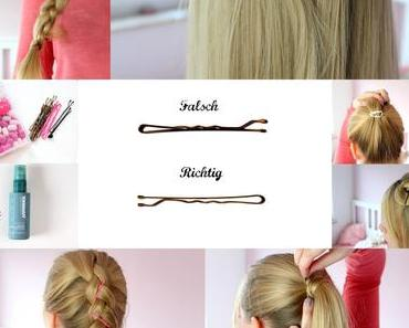Tipps und Tricks: 10 Ways to Use Bobby Pins