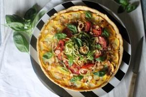 Exquisit: Zucchini-Mandel-Tarte