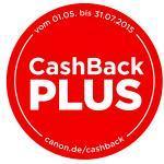 Neue Cashback Plus Aktion bei Canon ab 1.5.2015