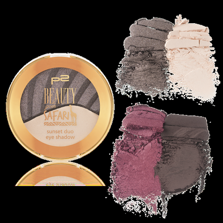 p2 Sunset Duo Eyeshadow | Beauty goes Safari LE