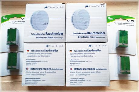 Review - VisorTech Photoelektrischer Rauchmelder