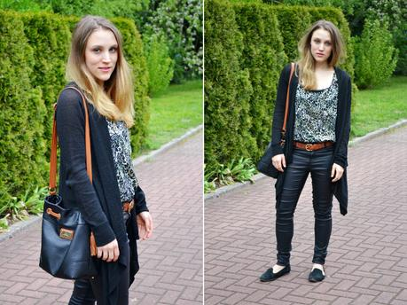 Outfit Coated Pants Casual