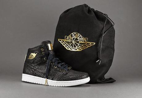 "THE 24K GOLD AIR JORDAN 1 ""PINNACLE"""