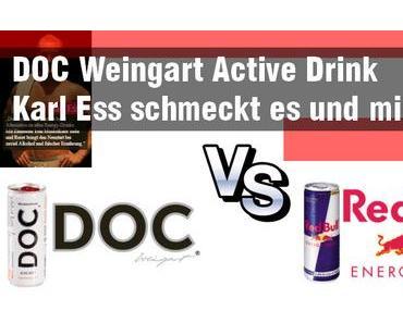 DOC Weingart Active Drink – Karl Ess schmeckt es und mir auch :)