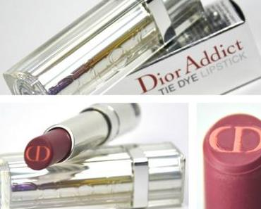 "[Review] Dior Addict Tie Dye Lipstick in der Nuance Nr. 03 ""Hypnotic Plum"" aus dem Dior Sommerlook 2015"