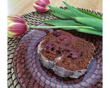 Baileys-Schoko Kuchen mit Kirschen