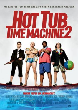 Hot Tub Time Machine 2 - Plakat