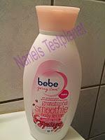 Produkttest bebe young care Granatapfel Smoothie Bodylotion