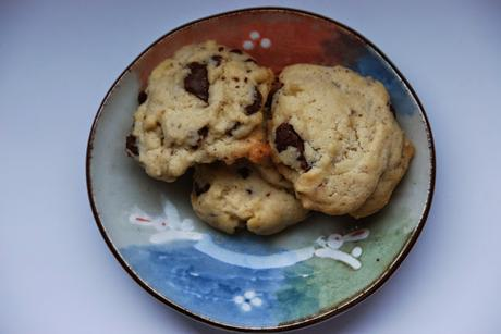 {Backidee} Chocolate Chip Cookies zum Muttertag