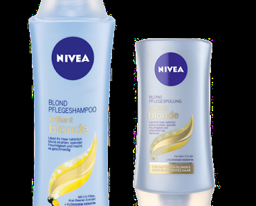 NIVEA brilliant blonde Shampoo & Conditioner