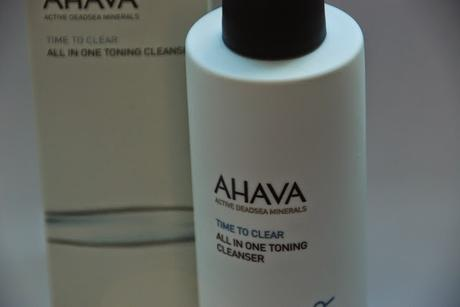 {Naturkosmetik} Ahava Dry Oil Body Mist und All in One Toning Cleanser