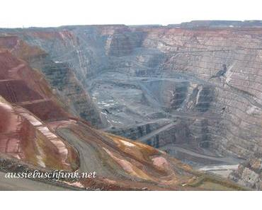Super Pit Goldmine in Kalgoorlie  – Der Wahn nach Gold