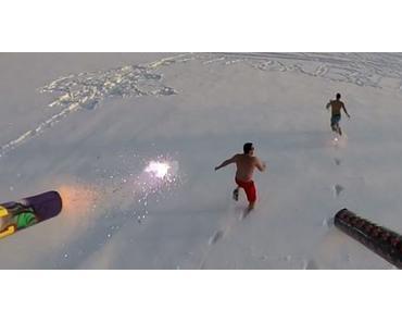 Abteilung Männerspielzeug: Die Feuerwerks-Drohne