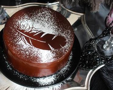 Black Swan: Schoko-Vanille-Torte