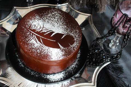 Black Swan Schoko Vanille Torte