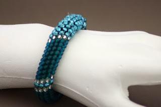 Perlenarmband Mit Muster
