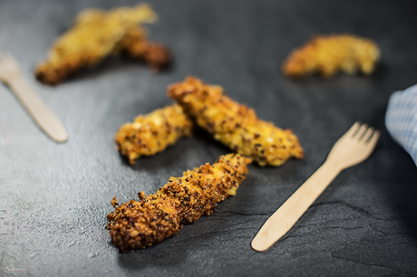 Quinoa Hendl Sticks